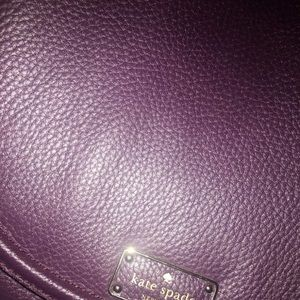 Bags - Deep purple/plum Kate spade satchel